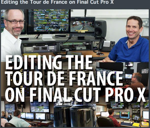 FCPX and Tour de France