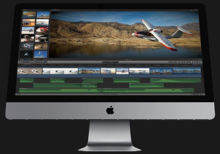 FCPX iMac Plane