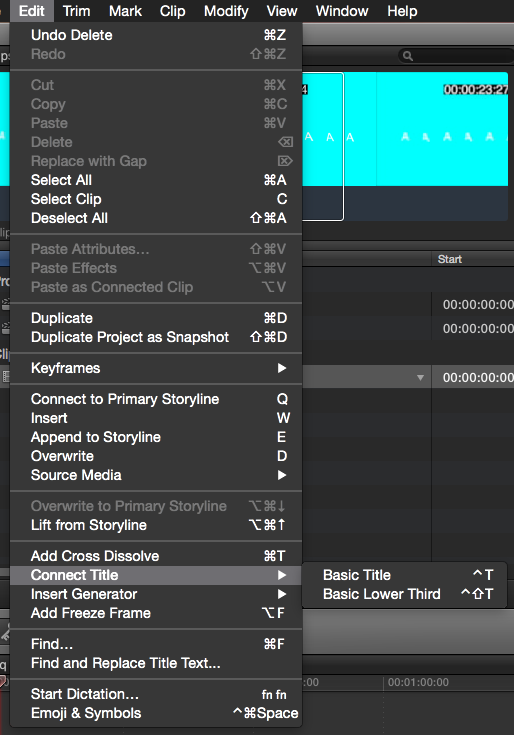 FCPX 10_2_3 Update Edit menu before